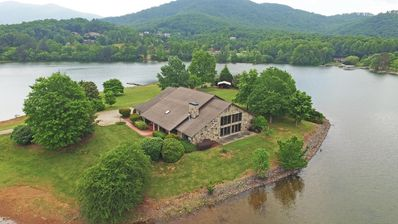 Photo for Lake Haven on Chatuge w/ Hot Tub, Indoor Pool & Private Dock