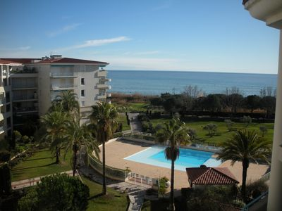 Photo for JUAN LES PINS Appart conditioned 5th floor 4/6 good quality 2 bedroom pk
