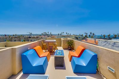 Roof Top Sundeck with Ocean Views
