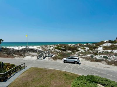 Photo for Close to the beach with great Gulf views!