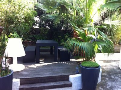 Photo for Apartment with private entrance from the garden as a house