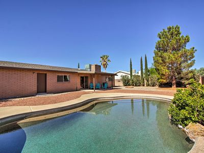 Photo for NEW! Pearce-Sunsites Home w/Pool & Desert Mtn View