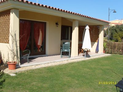 Photo for Sardinia-Pittulongu-Holiday home w/ garden 5 min. walk from withe sandy beaches