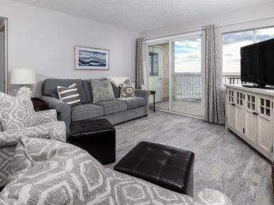 """Photo for """"Holiday Surf & Racquet Club 420"""" Gorgeous Remodeled 4th floor Gulf Front Condo!"""