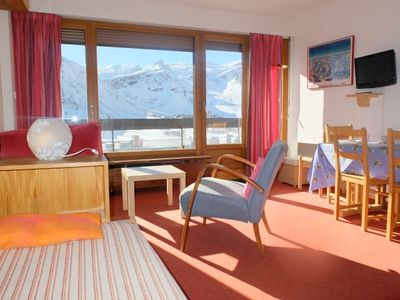 Photo for Very pleasant 2 room apartment, on center of  Tignes le lac