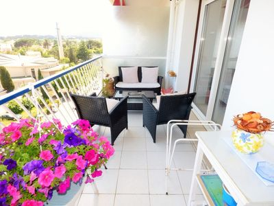 Photo for sea view,all on foot,any comfort, 2 balconys