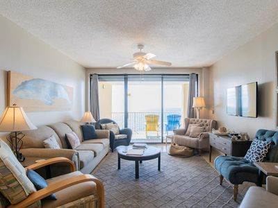 Photo for *December Special: Stay 2, Get 2 Free-3 Bed/2 Bath, Heated Pool, Gulf Front