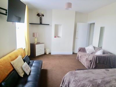 Photo for Exceptionally Spacious Top-Floor Flat on 2 Platforms-Dazzling Clean! Fun & Cosy!