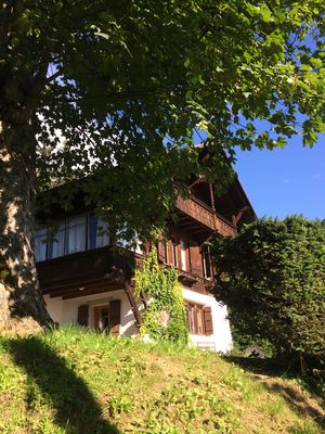 Photo for Old chalet with lots of charm and panoramic view