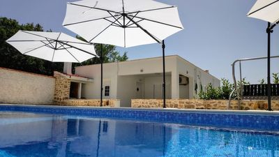 Photo for House with a private swimming pool and big terrace, in a peaceful village