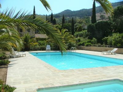 Photo for Luxury Low Cost 2 bed Villa with Pool, WiFi, Air Con, TV, in village, near beach