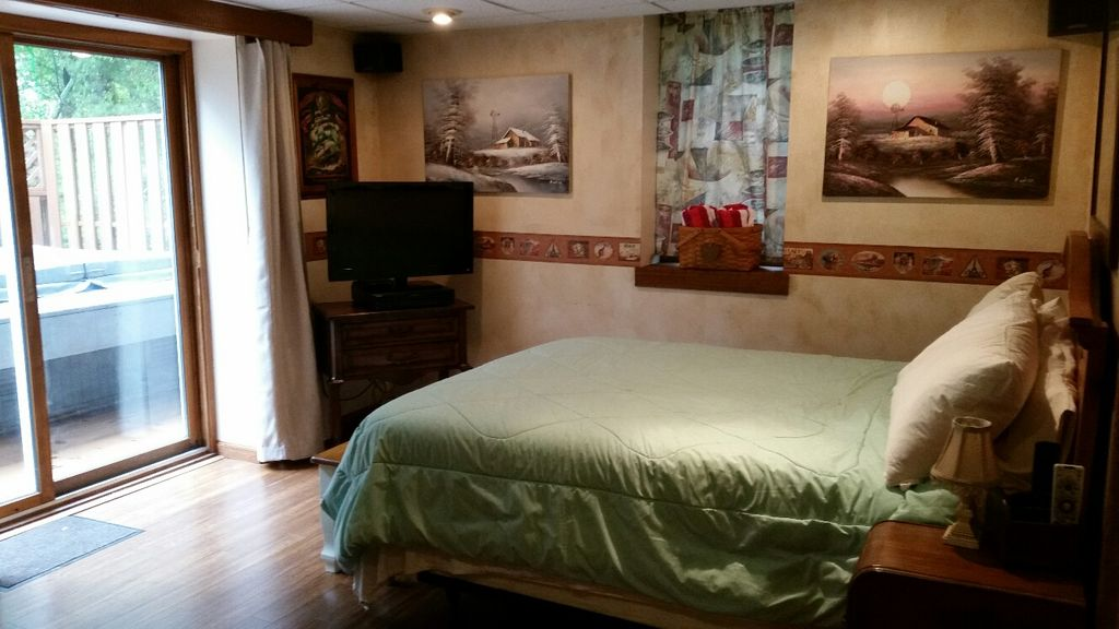 basement apartment bedroom. Walkout Bedroom Spacious Basement Apartment With Al  VRBO