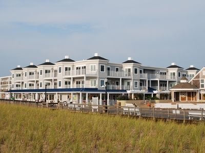 Photo for NEW Beachfront Condo Unit w/ Private Pool on Boardwalk!  Only Steps to the Ocean