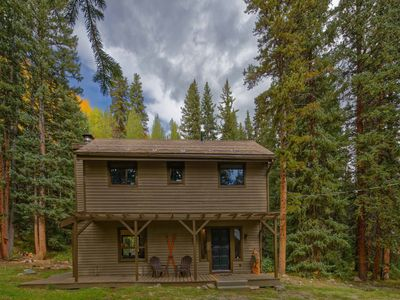 Photo for One of a Kind Secluded Mountain Cabin! RENOVATED w/ a Private Hot Tub!