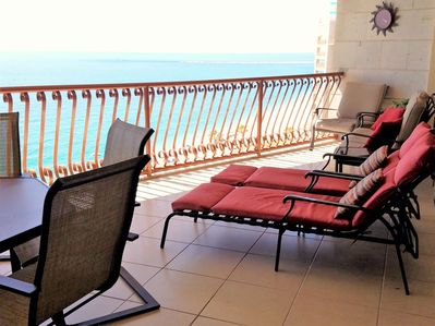 Balcony - Perfect spot to view sunset!