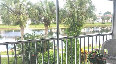 Photo for Cozy Lake View Condo with Pool, Tennis & Bocce Courts, Walking Paths