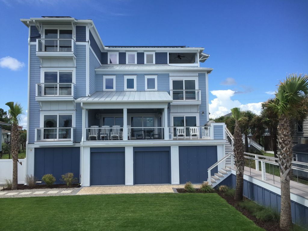 Beach Oceanfront 5br Handicapped Elevator Wedding Venue Summer