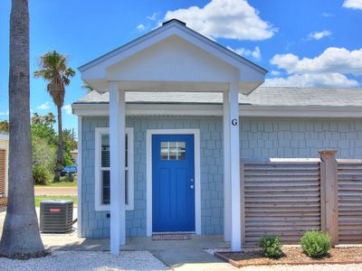 Photo for Cutest cottage in all of Port A! Brand new! Walk to the beach!