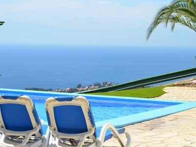Photo for Club Villamar - Holiday villa in Lloret de Mar with private pool, tennis court and seaview.