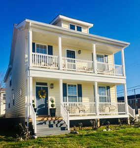 Photo for *NEW*Perfect location for beach vacay! Upscale 4BD/2.5BA. 13 Beds.  WATER VIEWS.
