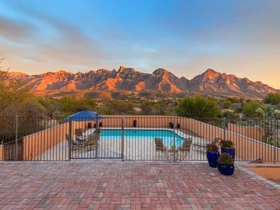 Photo for Secluded Southwestern Charm with Massive Catalina Mountain Views