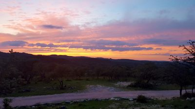 Photo for Western Sky in the beautiful Hill Country located in Blanco County. Blanco CO, T
