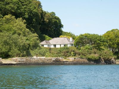 Photo for Luxury Riverside House with Stunning Views Over The Fal Estuary And The Woods