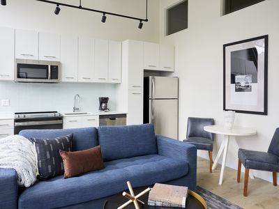 Photo for Sonder   Museum District   Lively 1BR + Rooftop