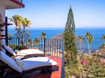 Photo for MILLION DOLLAR VIEW of PV - Fantastic location AND steps from the beach