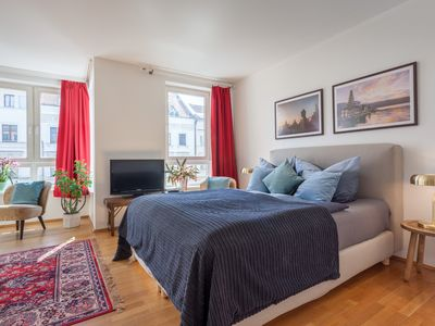 Photo for 1 BR studio with balcony in downtown Mitte