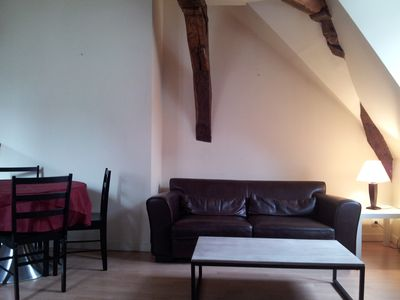 Photo for Port of Vannes, charming 65m2 in building renovated eighteenth, internet