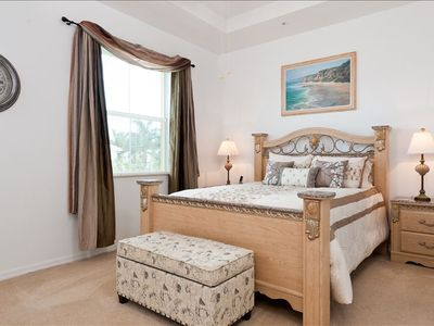 Imagine sleeping in a luxurious bedroom and waking to swaying palm trees
