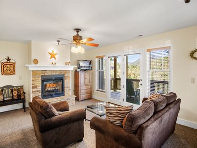 Photo for Wintergreens R822: Entry Level, Mountain View, Pools, Fitness, Close to High Country Attractions,...