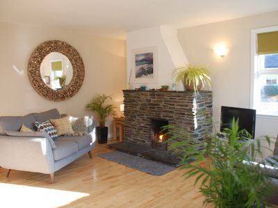 Photo for SEASHELL COTTAGE- SEIL- BY OBAN - SPA BATH - OPEN FIRE- PET FRIENDLY- BY THE SEA