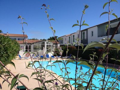 Photo for PRETTY BREAK, APARTMENT IN RESIDENCE WITH SWIMMING POOL AND PRIVATE TERRACE