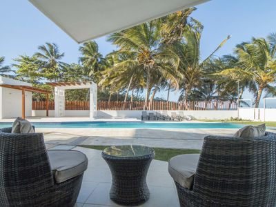Photo for Deluxe ocean front apartment for rent in Cabarete.