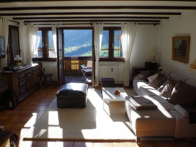 Photo for Bright quiet apartment with great views of the mountains for hiking and skiing