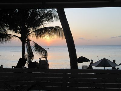 Photo for DolphinBay beachfront bungalow directly on the platinum WestCoast, 2Beds, 2Baths