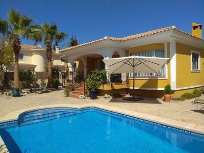 Photo for UNFORGETTABLE VACATIONS!!!BEAUTIFUL VILLA WITH POOL AND ALL THE COMFORTS.