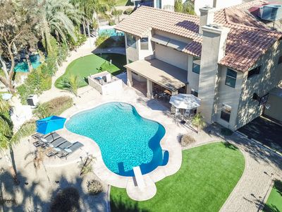 Photo for CDC Approved Cleaning! Completely Remodeled 6 Bedroom Luxury Home in the Heart Of Scottsdale