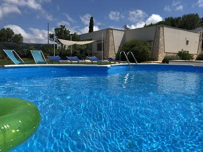 Photo for Holiday Villa to enjoy in the private pool or in the beautiful Jacuzzi