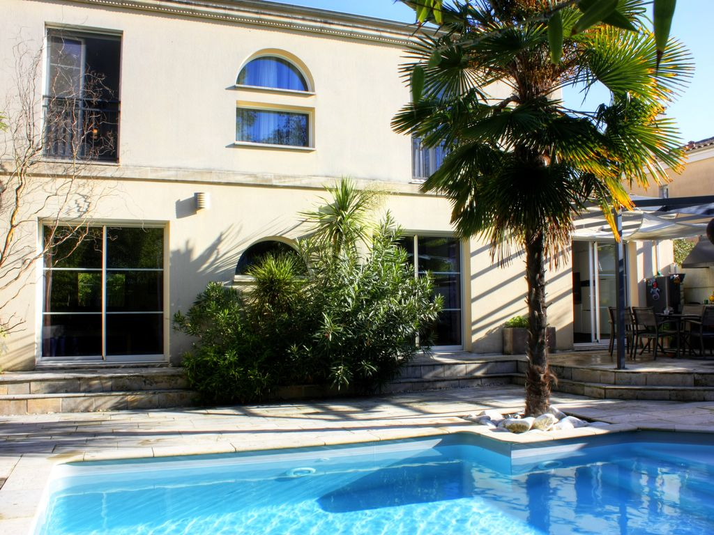 Nice house 5 bedrooms with heated pool at 15 min from for Alentour piscine