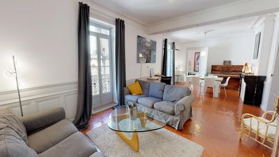 Photo for St Roch church 4 bedrooms, balcony Air conditioning and city balconies