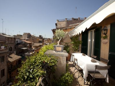 Photo for Splendid Penthouse in Campo de Fiori - Apartment for 4 people in Roma