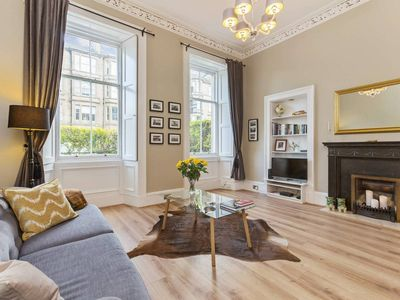 Photo for Beautiful New Town 2-bed Apt with Garden