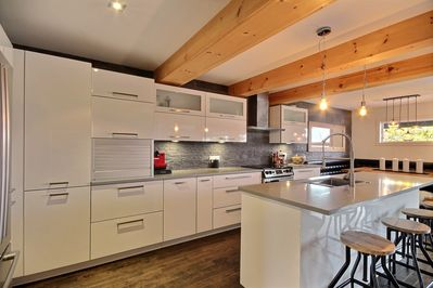 Large kitchen fully equipped!!