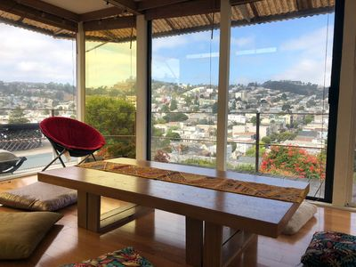 Photo for Cool, Eclectic Dolores Heights 3BR San Francisco Apt.with Views, Just Steps from Restaurants, Shopping - Walk Score ☆ 95 ☆