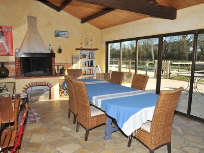 Photo for Bed and Breakfast with swimming pool - Accommodation for 10/12 people - Sea and countryside.