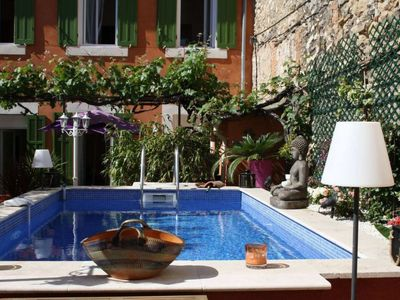 Photo for One bedroom Apartment, sleeps 4 in Marseille with Pool and WiFi