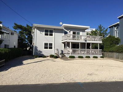 Photo for Outstanding Large Oceanblock Duplex with large decks - 4th off the beach!!!